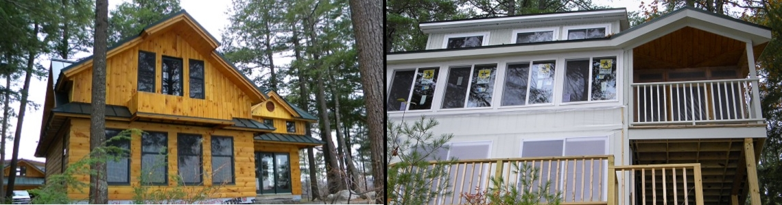 Maine Builders - Quality Ocean and Lake front homes.